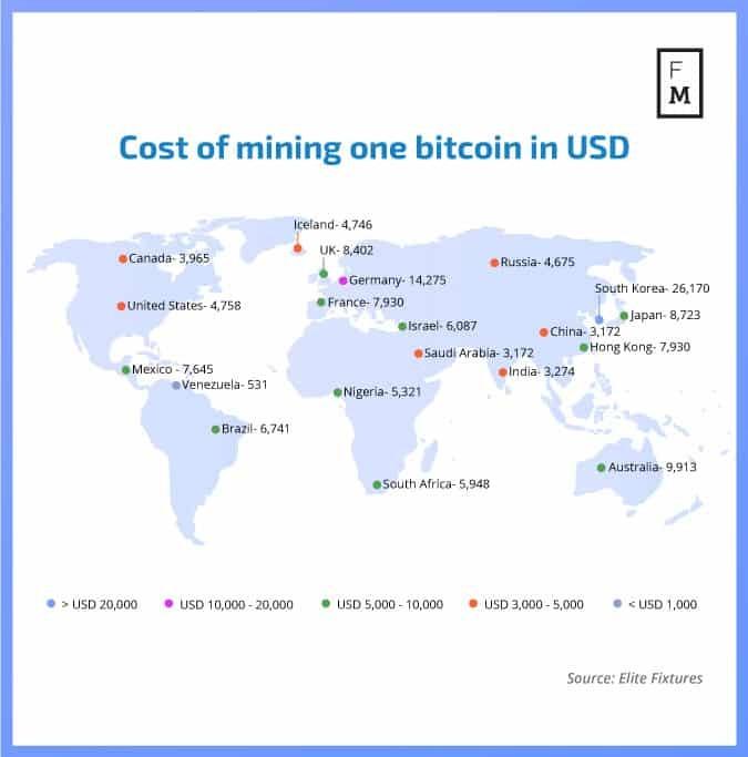 1%D8%B4 1 - هزینه ماینینگ یک بیت کوین در کشور شما چه میزان است؟