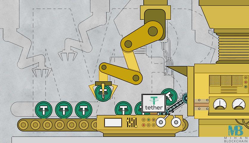 تتر توکن های جدید به ارزش 50 میلیون دلار عرضه کرد