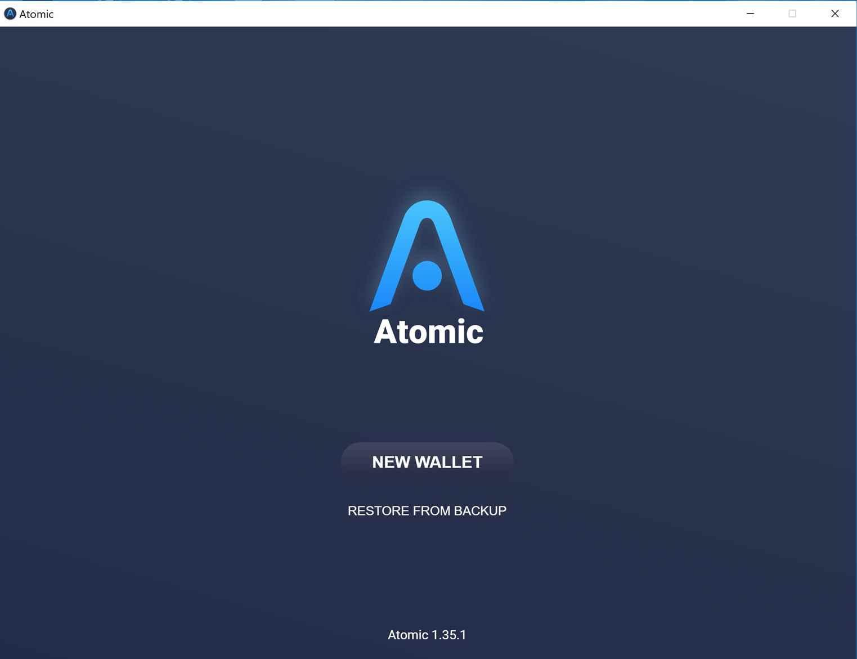 کیف پول اتومیک atomic wallet