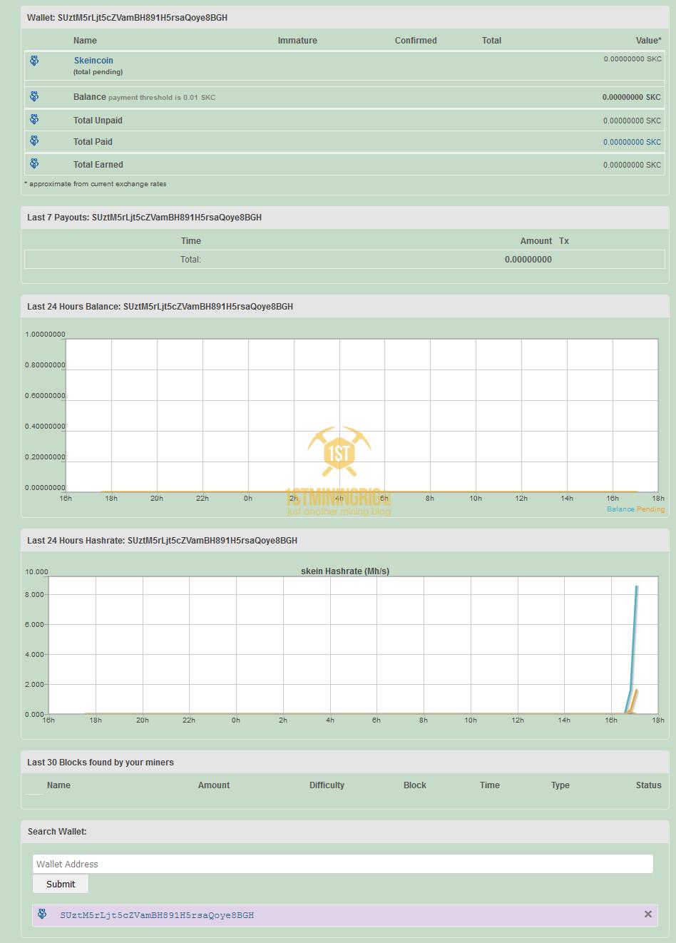BlackMiner-F1-FPGA-Skeincoin-SKC-Pool-Mining