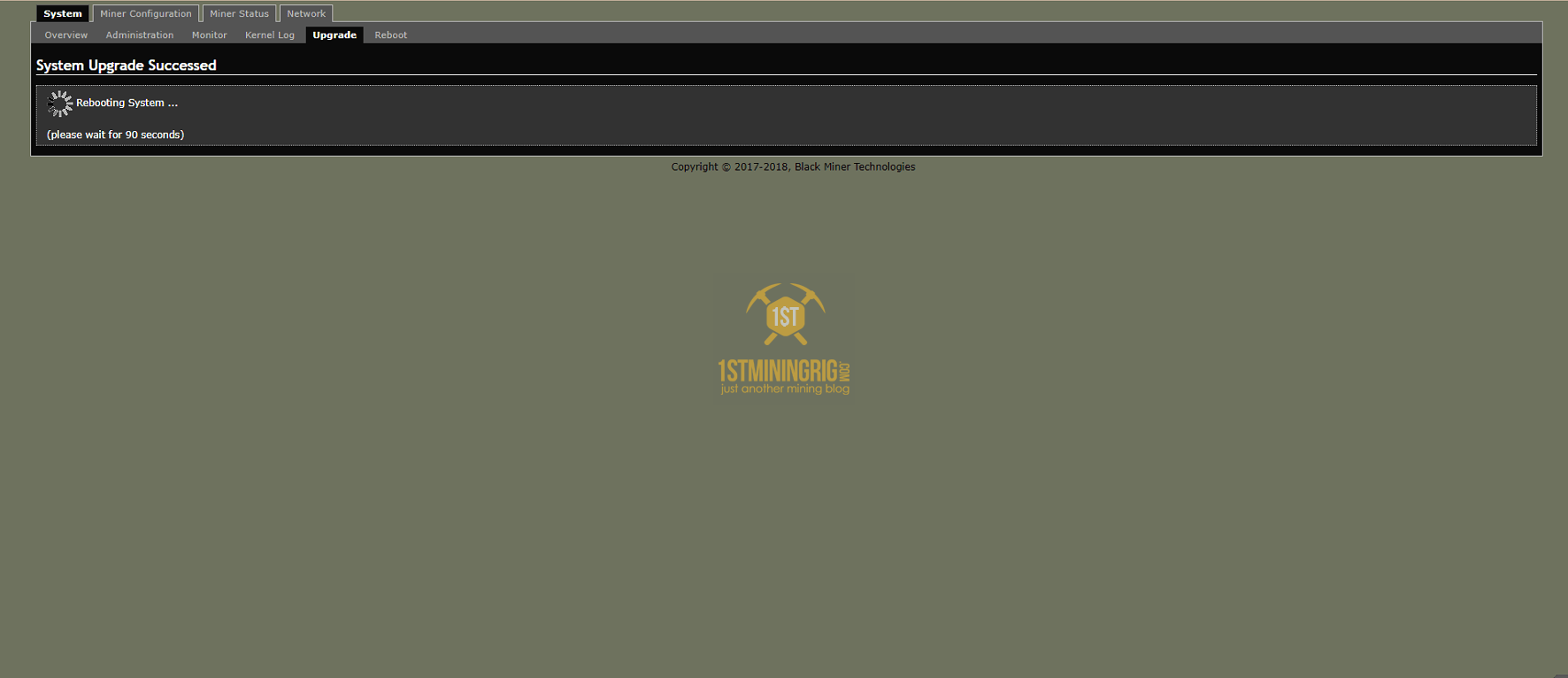 BlackMiner-F1-Reboot-flashing-image
