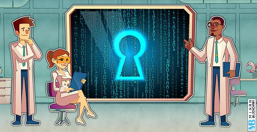 مقایسه الگوریتم های رمزنگاری متقارن و نامتقارن