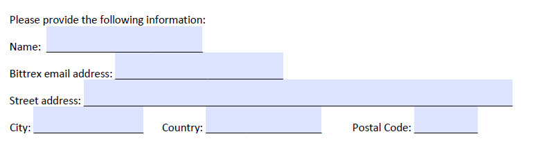 اطلاعات حساب بیترکس