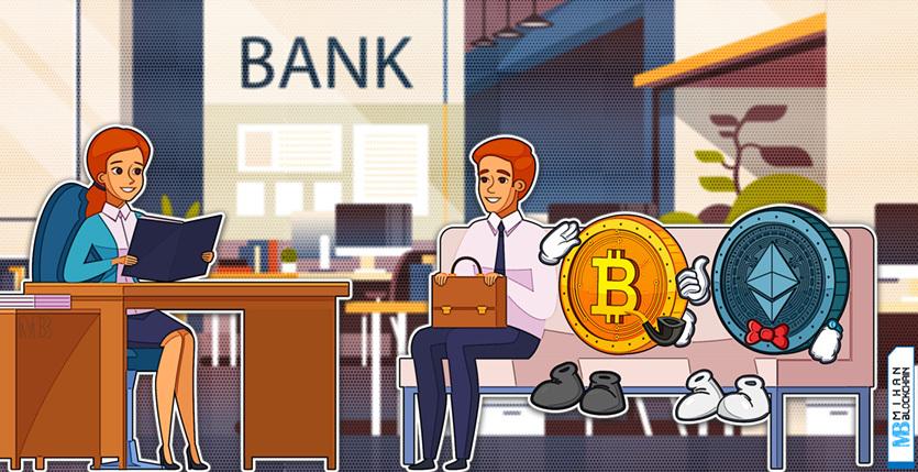 Banks have applied for bitcoin and Ethereum services تا ۳ سال آینده بانکهای ارز دیجیتال جایگزین بانکهای سنتی می شوند