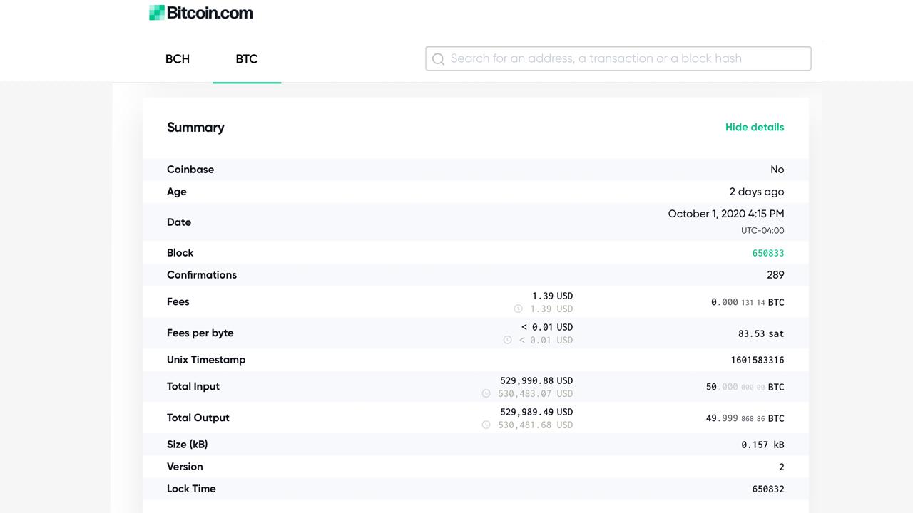 انتقال نیم میلیون دلار از بیت کوین خفته به صرافی ارز دیجیتال