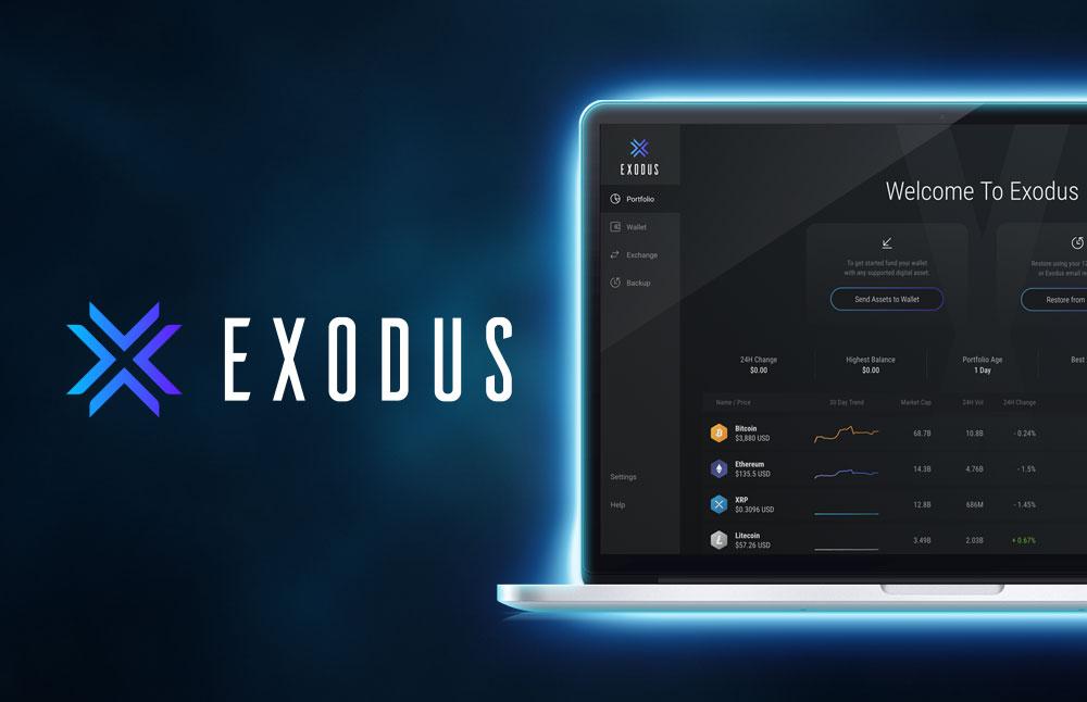 استیکینگ کیف پول اکسدوس اگزودوس Exodus