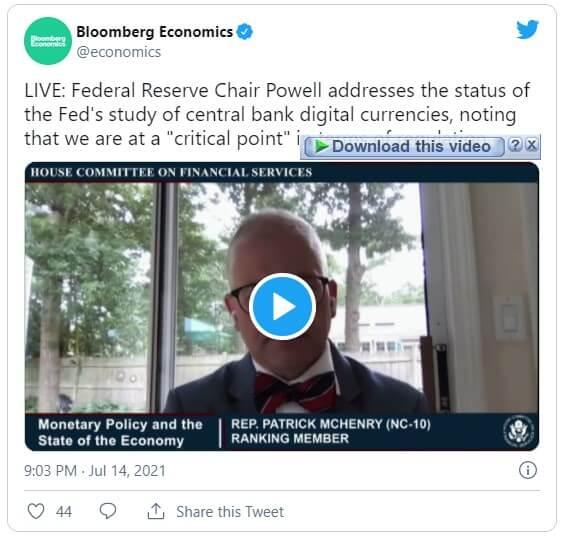 جروم پاول رییس فدرال رزرو قانونگذاری رمز ارزها استیبل کوینها و CBDC